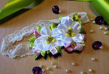 Fidrygałki / Moje twórcze kwiatowe ozdoby.