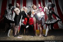 """Halloween-Circus / Inspiration and planning for my Halloween """"Dead Circus"""" party."""