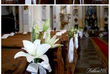 dekoracja kościoła i sali
