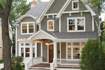 House exterior colors / by Heather Mae