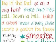 Outdoor learning inspiration