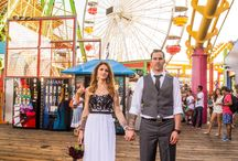 Santa Monica Elopement / Kayla and Mark get eloped in Santa Monica, California. They flew all the way from Nova Scotia to get married in the states! Check out their fun photos!