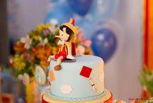 Pinocchio Birthday Cake