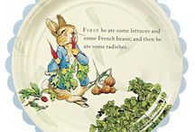Peter Rabbit Party / The Tale of Peter Rabbit follows mischievous and disobedient young Peter Rabbit as he is chased about the garden of Mr McGregor. Combine light blue, green, yellow and even red to your party to compliment this theme. Available at www.partylady.co.za