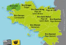 Celtic: FR BR Leon / Bas-Léon, Haut-Léon, Brest-Landerneau, Conquet, Ile d'Ouessant, Ile de Batz, Pagan, Saint-Pol-de-Léon, Morlaix, Taulé
