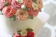 buttercream-flower cake