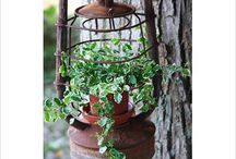 flower planters / by Brisha Southard