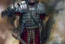 guerrierei (Samurai, spartani, Romani..)