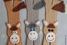 separadores a crochet