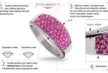Infografika a popisy šperků