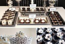Sweet Tables Black & White