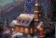 Christmas sceneschristmas scenes