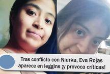 Tras conflicto con Niurka, Eva Rojas aparece en leggins ¡y provoca críticas!