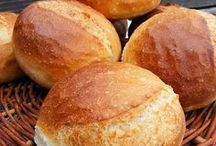 Zsömi, kenyér, sütik