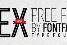 Web Fonts collection