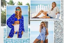 The Edit: Riviera Spirit / The ocean knows that blue and white is always right, wear cool fabrics, soft details and finish with tan accessories. http://www.littlewoodsireland.ie/trends-women.page