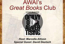 AWAI's Great Books Club / Welcome to AWAI's Great Books Club! If you want to be a great writer, it helps to read the right books ... Each month, Marcella Allison and some very special guests are going to unlock the keys to a richer, more rewarding life by studying the great thinkers in the worlds of copywriting, marketing, business, and more. Discussions are free and open to the public. Register here: http://www.awaionline.com/book-club/