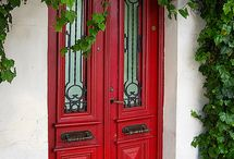 Doors / I love doors, their charm, history and oh if they could talk. / by Maryann Croce