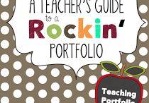 teacher portfolio etc