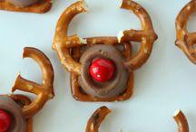 Pretzel Reindeer / Christmas