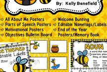 Classroom Decor / by Kelly Benefield