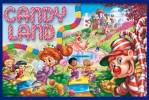 CANDYLAND / My favorite game growing up..and isn't it pretty?!