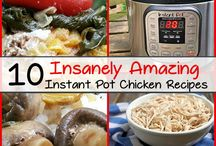 Instant Pot Recipes / Easy Instant Pot Recipes for the beginner to the advanced. Fill your dinner with taste and creativity with these recipes.