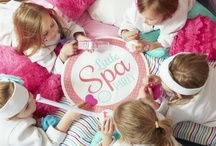 Little Spa Party Ideas / New, exclusive theme from BirthdayExpress.com. Have an ahhmazing party with Little Spa Party with pampering party supplies and decor. #spaparty #birthdayexpress