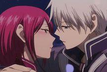 Shirayuki au cheveux rouge