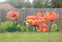 outdoor wall painti g