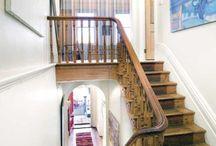 entryways + hallways + stairwells