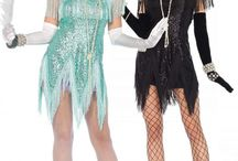 Flapper 1920's costumes