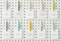 Pegboards / Pegboard inspiration