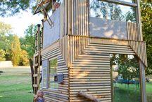 Cubby houses & backyard ideas