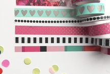 washi tape versieringen