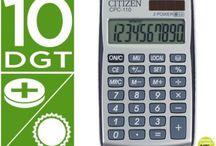 Calculadoras Bolsillo