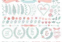 Floral Cliparts