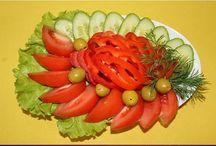украшения для салатов и тортов