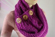 Knitting & Crochet Scarves Patterns / Knitting scarf, crochet scarf, patterns, DIY tutorials for scarves, knitting