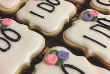 @Cookiesbykayli Bridal Shower Cookies
