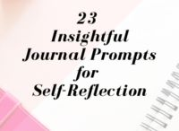 Journaling and Writing Prompts