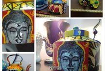 Kolor Kettles / Kitsch art inspired colour pop kettles.