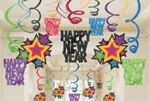 New Year's Decorations & Crafts / Festive decorations for New Year's Eve, plus some fun craft ideas to ring in the new year!