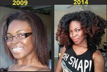 Black hair / Natural, healthy hair