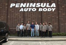 The Team / Meet the Peninsula Auto Body Team.  We're dedicated to you and focus on providing the best customer service regarding your auto body needs.  Car repairs can be a stressful time.  Our team strives to make your visit as seamless and hassle free as possible.