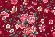 Fabric with Rose prints
