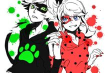 Miraculous The Adventures of Ladybug and Chat Noir / Just what the title says, but with a bit more LadyNoir