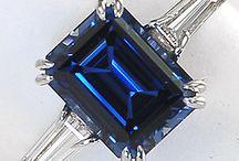 """Sapphire / Piedra preciosa y su aplicación a la joyería """""""