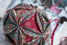 fabric ornaments