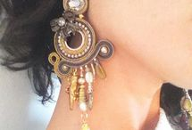 Soutache / Earrings Ringbased